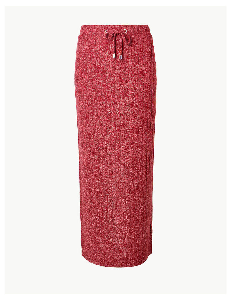 M&S Collection Jersey Pencil Maxi Skirt
