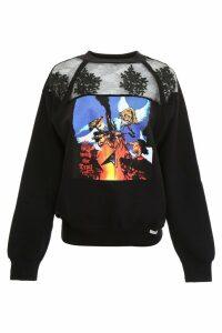 Forte Couture White Rock Sweatshirt