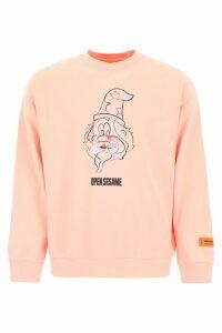 HERON PRESTON Open Sesame Sweatshirt