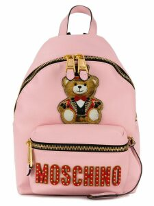 Moschino Teddy Circus backpack - Pink