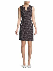 Knit Sleeveless Sheath Dress
