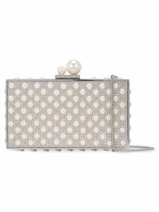 Sophia Webster Clara clutch bag - Silver