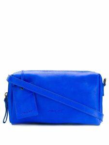 Marsèll embossed logo clutch bag - Blue