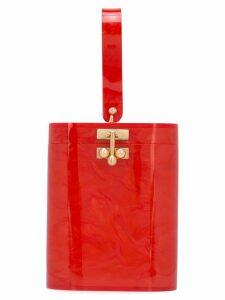Edie Parker mini bucket bag - Red