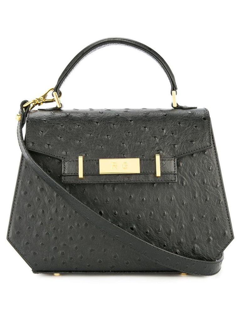 Rula Galayini Lily ostrich mini satchel - Black