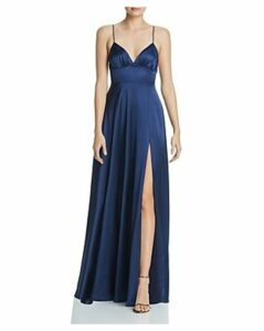 Fame and Partners Margit Satin Gown