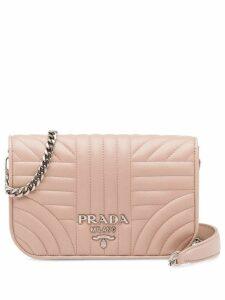 Prada Diagramme shoulder bag - Pink