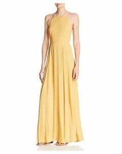 Re: Named Vanessa Dot-Print Maxi Dress