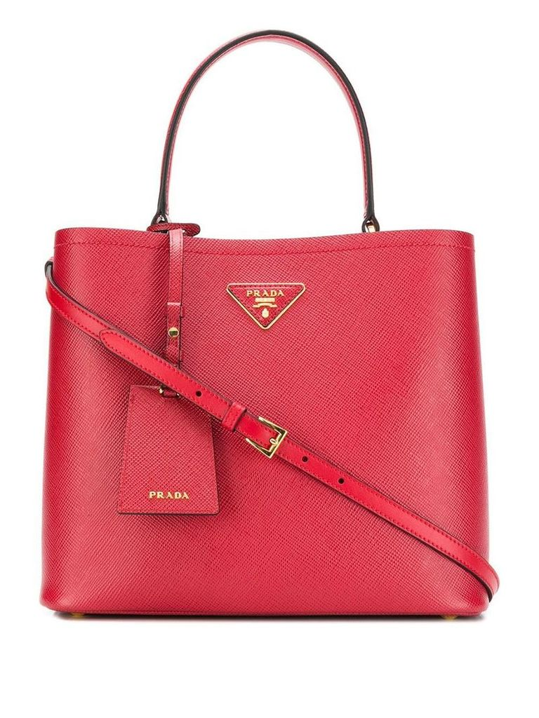 Prada Double tote - Red