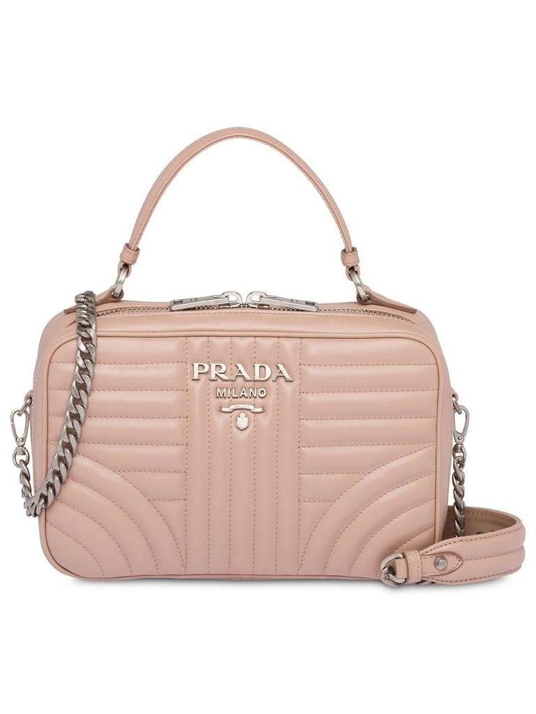 Prada Diagramme handbag - Pink