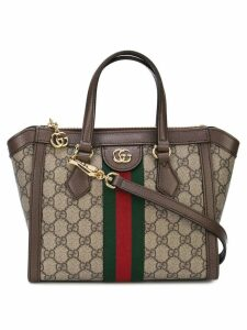 Gucci Ophidia small GG tote bag - Brown
