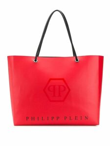 Philipp Plein oversized shopper tote - Red