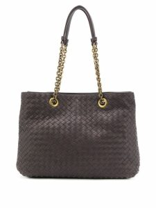 Bottega Veneta Intrecciato tote bag - Brown
