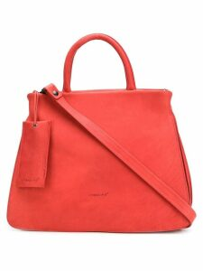 Marsèll embossed logo tote bag - Red