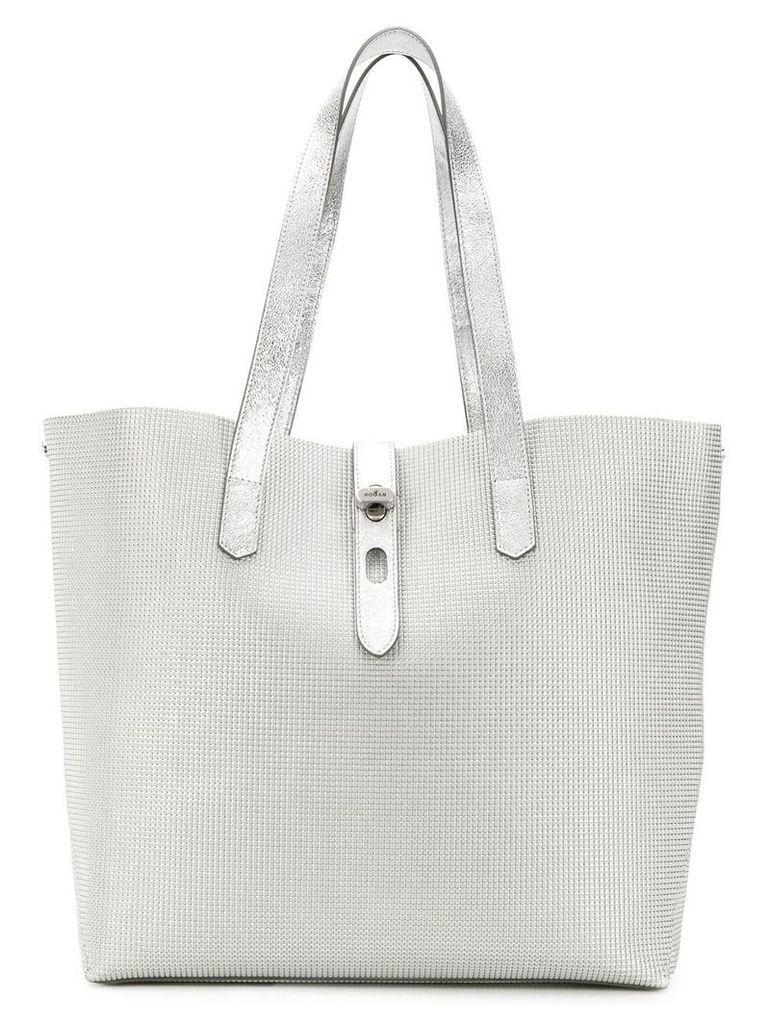 Hogan tote bag - Silver