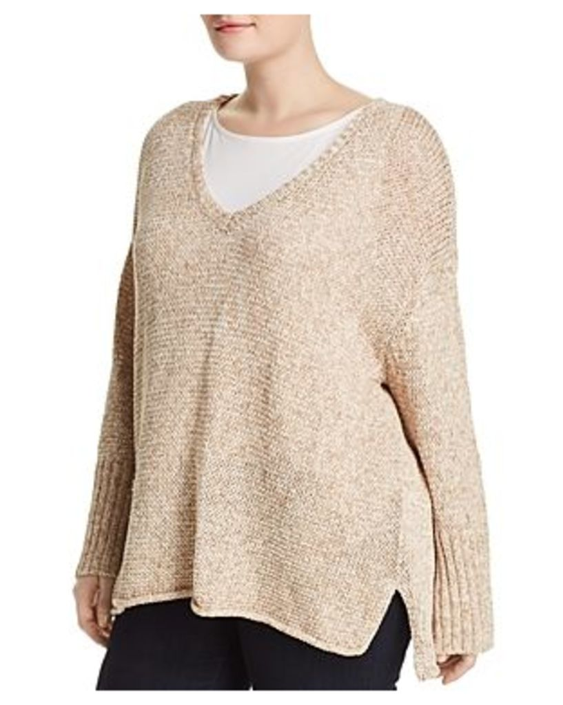 525 America Plus Relaxed V-Neck Sweater