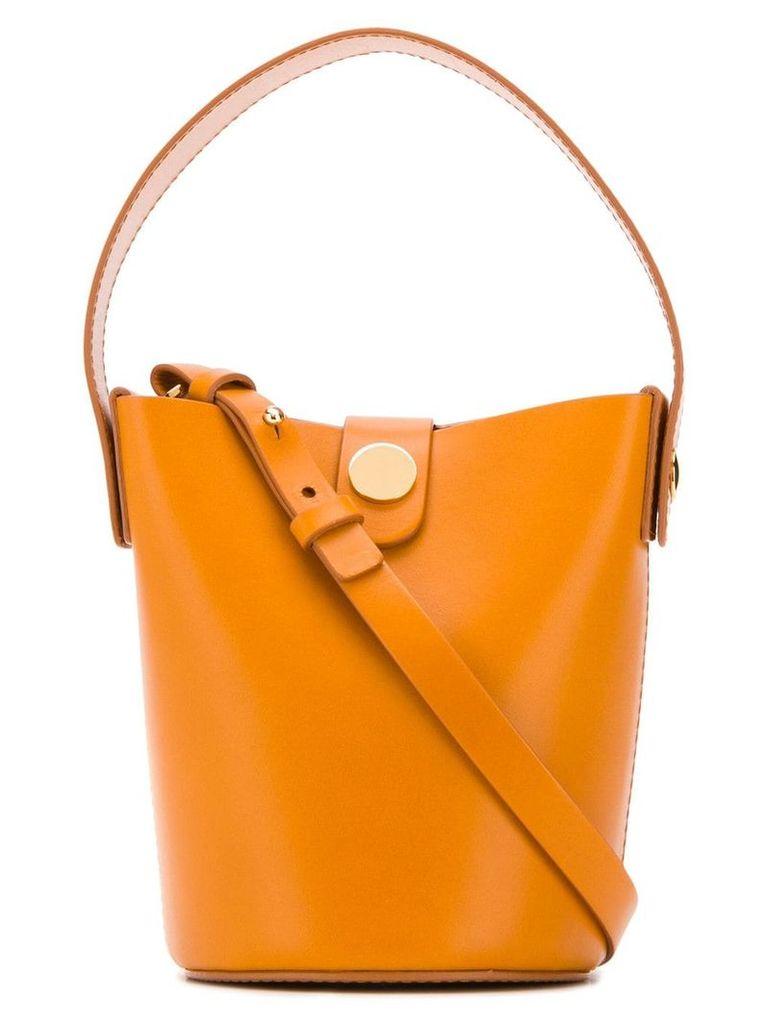 Sophie Hulme Nano Swing bucket bag - Orange