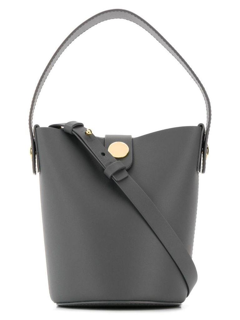 Sophie Hulme Nano Swing bucket bag - Grey