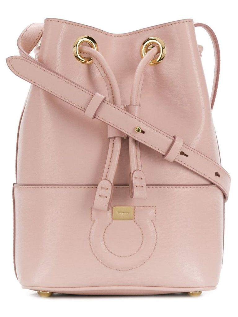Salvatore Ferragamo City bucket bag - Pink