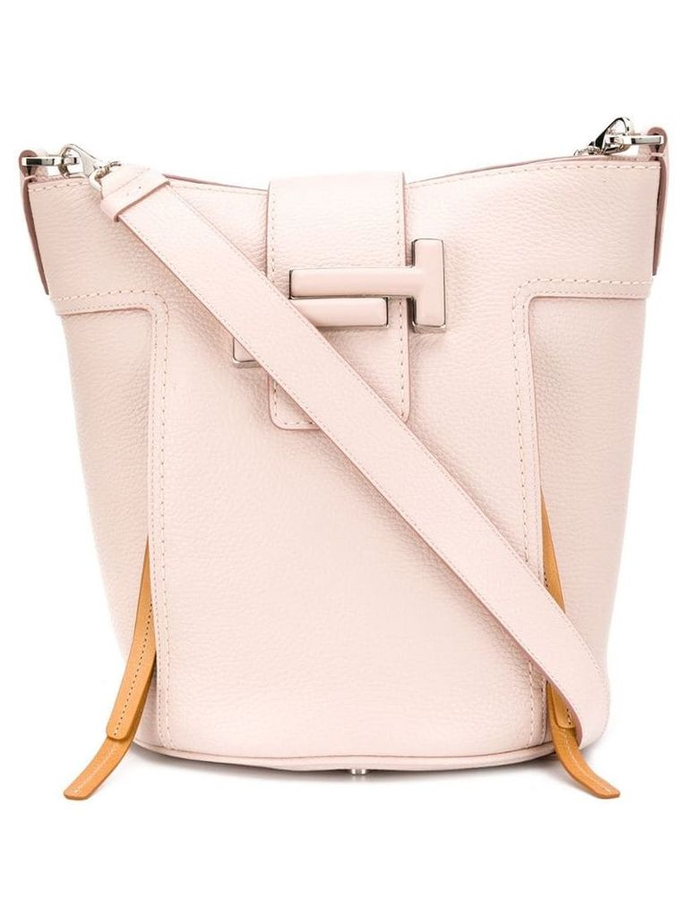 Tod's shoulder bucket bag - Pink