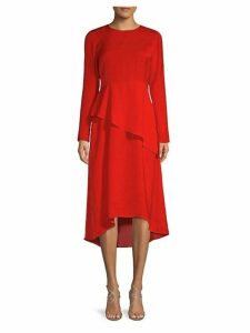 Overlay A-Line Dress