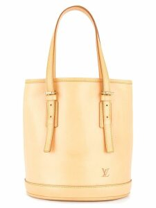 Louis Vuitton Pre-Owned Bucket PM shoulder tote bag - Brown
