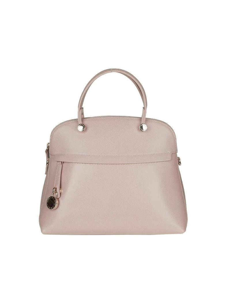 Furla Piper M In Leather Pink