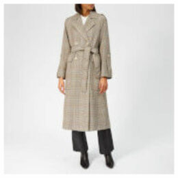 Whistles Women's Check Trench Coat - Multicolour