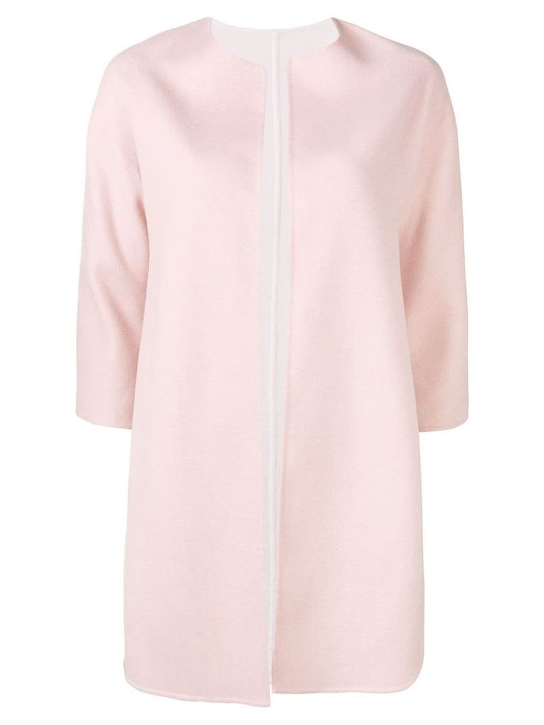 Manzoni 24 three-quarter sleeve coat - Pink