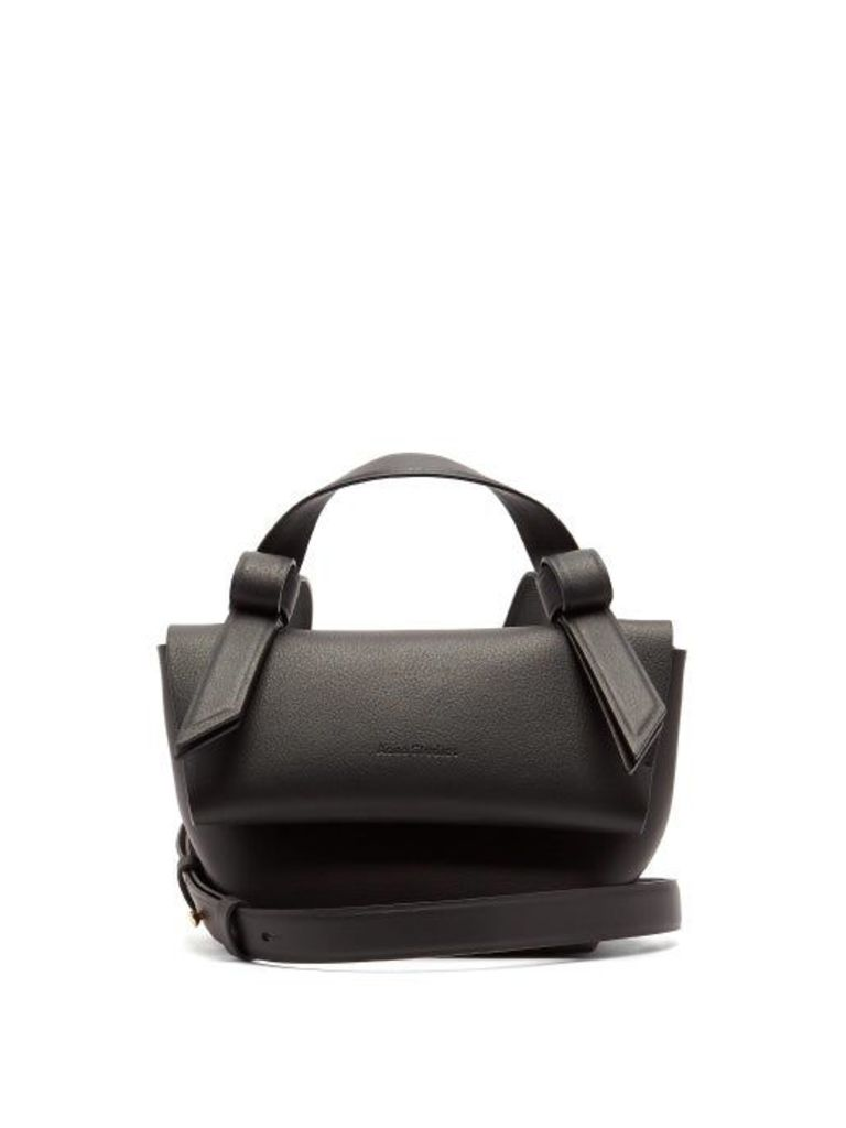 Acne Studios - Musubi Milli Leather Cross Body Bag - Womens - Black