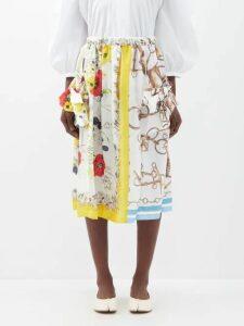 Wandler - Hortensia Mini Corduroy Shoulder Bag - Womens - Blue