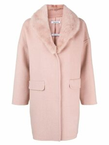 P.A.R.O.S.H. single breasted coat - Pink