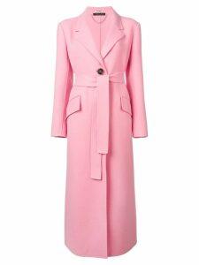 Miu Miu longline coat - Pink
