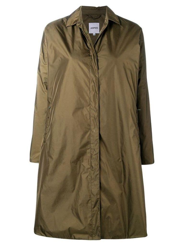 Aspesi single breasted coat - Green
