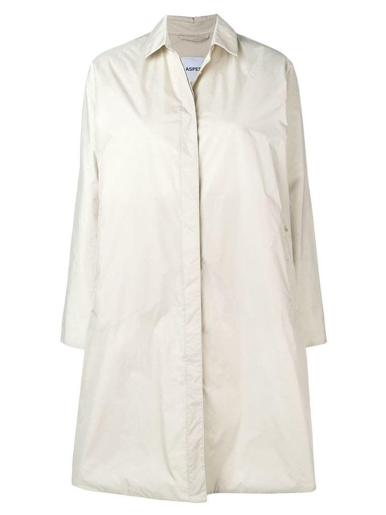 Aspesi single breasted coat - Neutrals