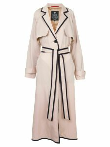 Loveless contrast trim coat - PINK