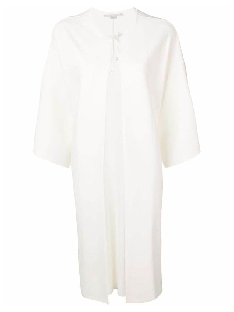 Stella McCartney unstructured coat - White