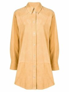 Isabel Marant Étoile oversized shirt coat - Yellow