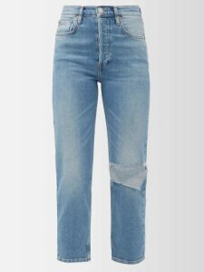 Rhode - Josephine Sleeveless Tie Dye Cotton Midi Dress - Womens - Multi