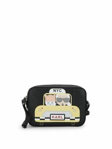 Taxi Leather Crossbody Bag