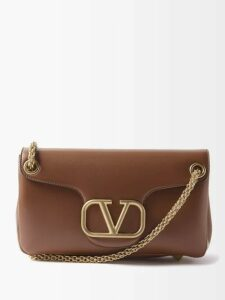 Prada - Houndstooth Print Single Breasted Coat - Womens - Blue Print