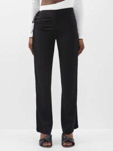 Sportmax - Terry Coat - Womens - Dark Blue