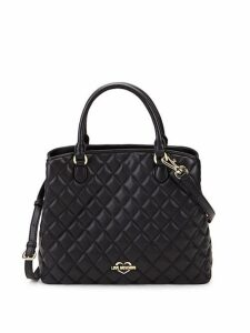 Diamond Quilted Satchel