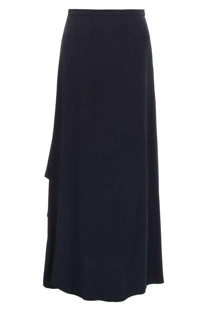 Max Mara Long Skirt With Ruffle