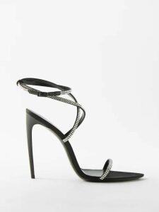 Proenza Schouler - Ribbed Cotton Blend Sweater - Womens - Black Multi