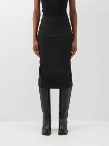 Peter Pilotto - Striped Lamé Jacquard Dress - Womens - Navy Multi