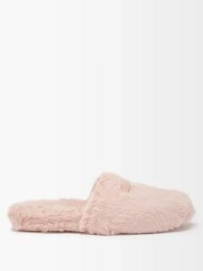 Carolina Herrera - Flocked Waterfall Panel Strapless Tulle Gown - Womens - Pink Multi