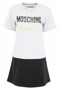 Moschino Sweatshirt Dress With Logo Print