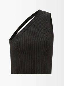 Givenchy - Leopard-jacquard Pencil Skirt - Womens - Black Multi