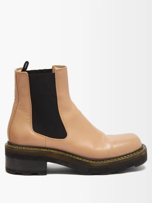 Balenciaga - Logo Print Cotton T Shirt - Womens - Green
